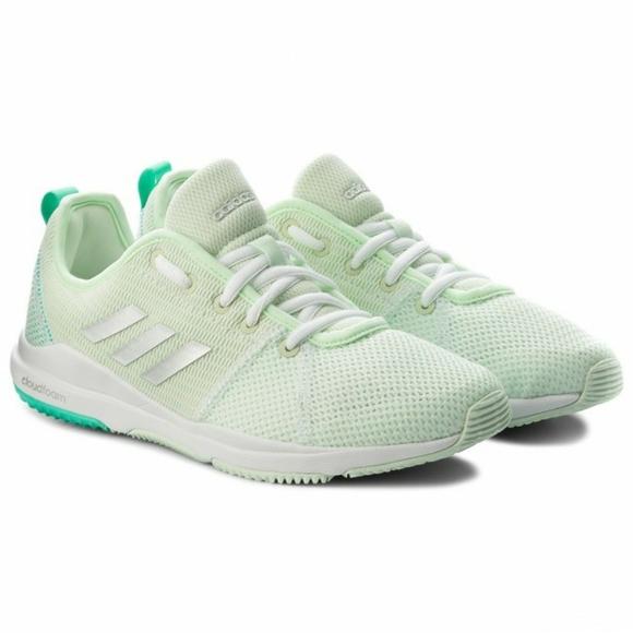 NEW Adidas Arianna Cloudfoam Lime Green Running…